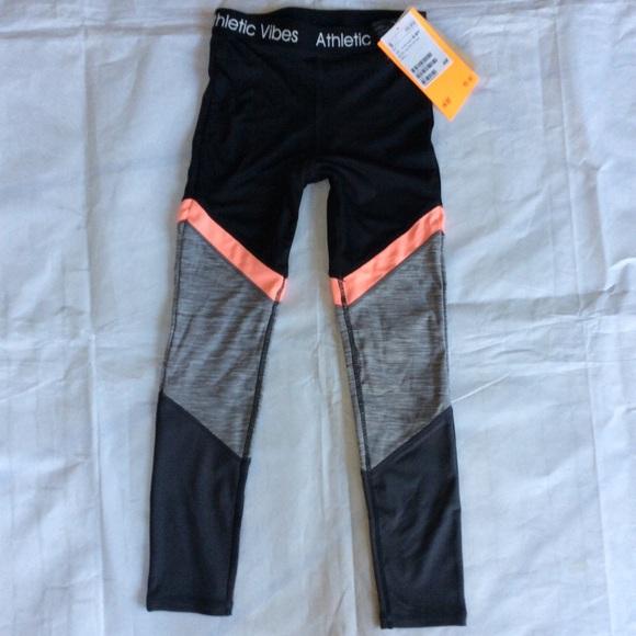 3e979be97d60e H&M Bottoms | Hm Athletic Vibes Leggings Girls 1012 | Poshmark